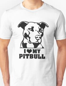 I love my Pitbull-2 T-Shirt