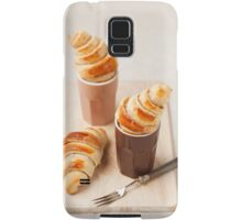 Small croissants Samsung Galaxy Case/Skin