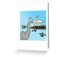 Unusual Delivery - Wildlife Card Greeting Card