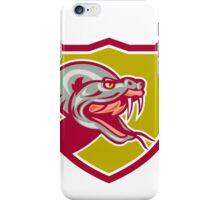 Rattle Snake Head Shield Retro iPhone Case/Skin