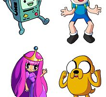 Adventure Time - Sticker Sheet 1 Collection by 57MEDIA