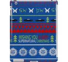 Supernatural Christmas Sweater iPad Case/Skin