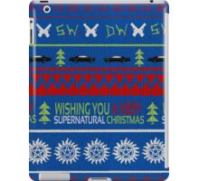 Supernatural Christmas Sweater iPad Case/Skin