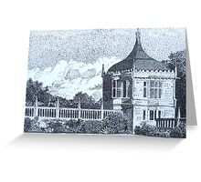 Pavilion, Montacute House, Somerset Greeting Card