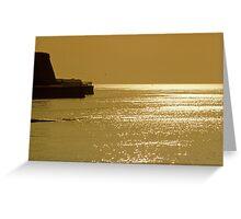 Kentish Sunset Greeting Card