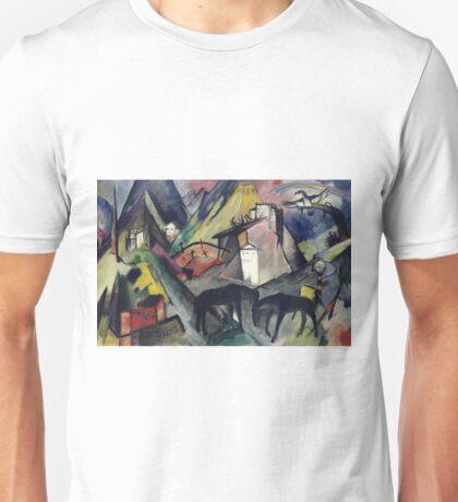 Franz Marc - The Unfortunate Land Of Tyrol Unisex T-Shirt