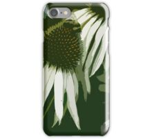 Cone Flowers with Bee iPhone Case/Skin