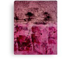 Monotype Rose Canvas Print