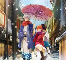 Gintama - Yorozuya Winter by banafria