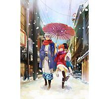 Gintama - Yorozuya Winter Photographic Print