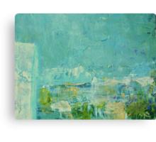 Green Abstract No 2 Canvas Print