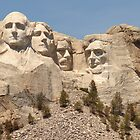 Mt. Rushmore by eltotton