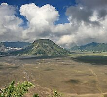 The top of Mountain Bromo by Ismail Basymeleh