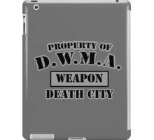 D.W.M.A. Weapon Uniform iPad Case/Skin