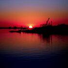 Monkey Island Sunset by Michael Reimann