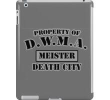D.W.M.A. Meister Uniform iPad Case/Skin