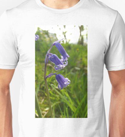 Bluebells amongst the grass Unisex T-Shirt