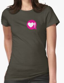 saying something... Womens Fitted T-Shirt