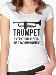 Funny Trumpet Player Women's Fitted Scoop T-Shirt