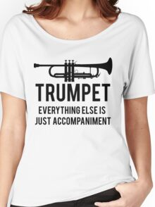 Funny Trumpet Player Women's Relaxed Fit T-Shirt