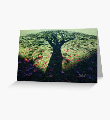 Neath the Shade of the Tree... Greeting Card