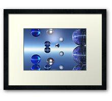 Blue Moons Framed Print