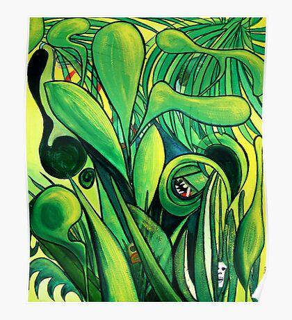 Mayan jungle Poster