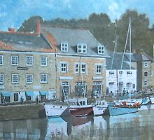 Padstow, Cornwall by Tonkin