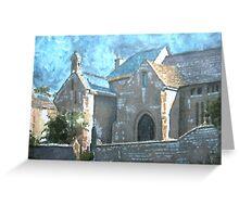 The Priory, Stoke-sub-Hamdon Greeting Card
