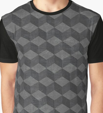 Black Cube Graphic T-Shirt