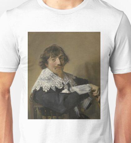 Frans Hals - Portrait Of A Man, 1635 Unisex T-Shirt
