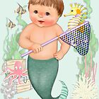 Little Merboy Mermaid by SpiceTree