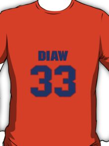 Basketball player Boris Diaw jersey 33 T-Shirt