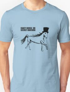 Secret Unicorn Unisex T-Shirt