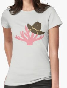 CORAL!!!!!!!! Womens Fitted T-Shirt