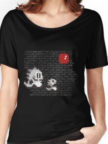 Bubble Bobble Banksy Women's Relaxed Fit T-Shirt