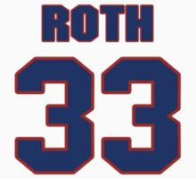 Basketball player Scott Roth jersey 33 by imsport
