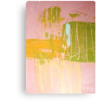 Pink No. 321 Canvas Print