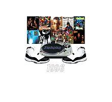 1996 Hip Hop & Jordans Photographic Print