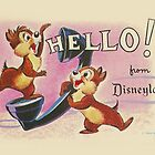 Hello Chip 'n' Dale by ShopGirl91706