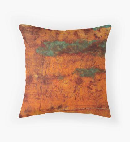 Monotype No. 1 Throw Pillow