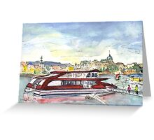 The Danube In Budapest 01 Greeting Card