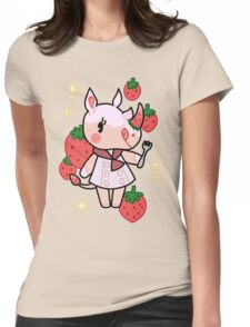 Merengue of Animal Crossing Womens Fitted T-Shirt