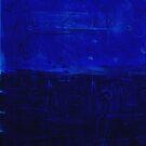 Blue x o by Susan Grissom