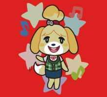 Isabelle of Animal Crossing Kids Clothes