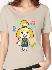 Isabelle of Animal Crossing Women's Relaxed Fit T-Shirt