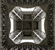 Up The Eiffel 2 by Aidan Clarkson