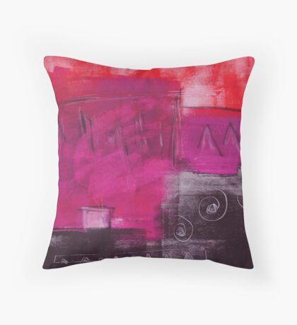 Monotype V Throw Pillow