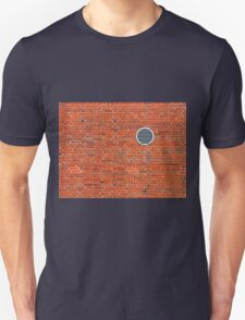 Red bricks wall Unisex T-Shirt