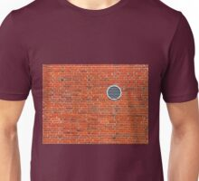 Red bricks wall Unisex T-Shirt